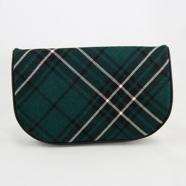 Maclean tartan clutch bag