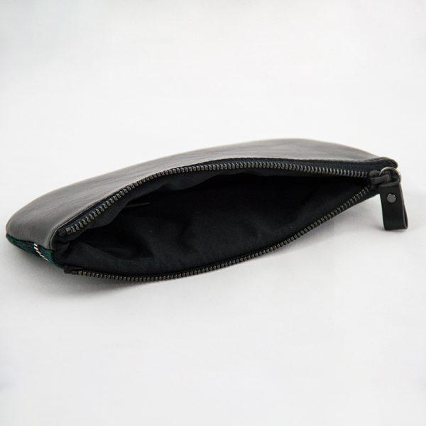 Maclean hunting tartan purse opening