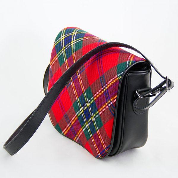Maclean tartan shoulder bag
