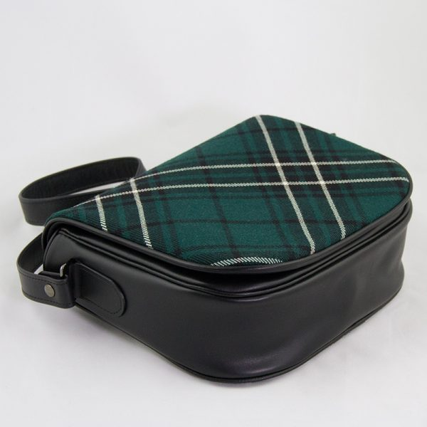 Maclean hunting tartan shoulder bag