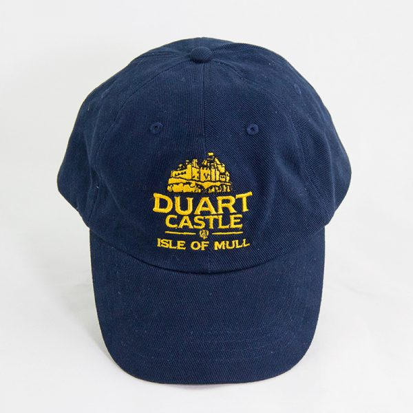 Duart Castle baseball cap blue