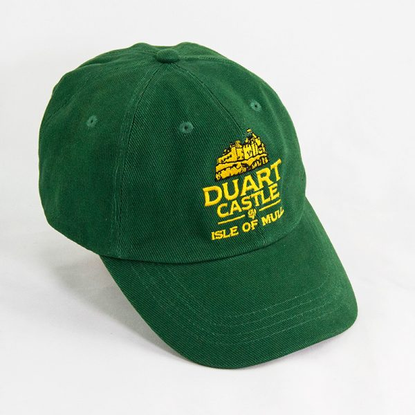 Duart Castle baseball cap green