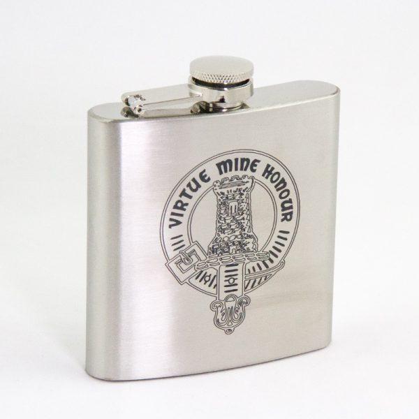 Maclean Clan Gathering hip flask