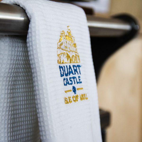 Duart Castle tea towel