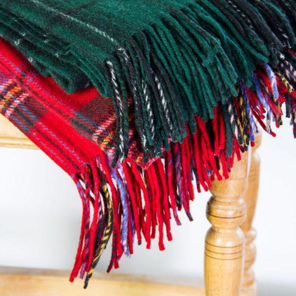 tartan travel rugs