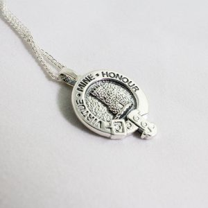 Clan crest charm necklace
