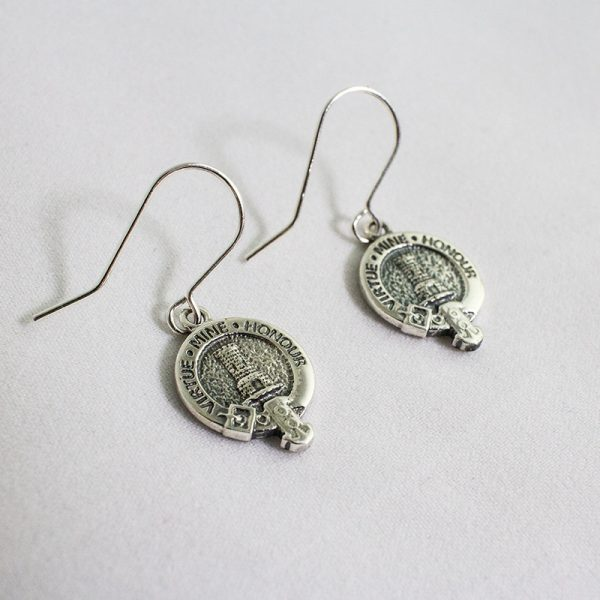 clan crest earrings