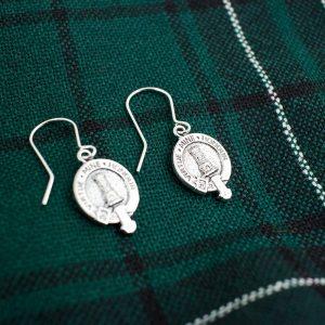 clan crest earrings