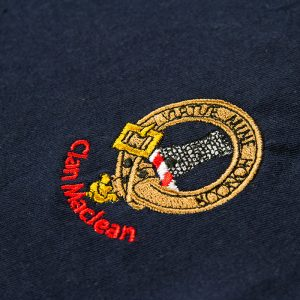 Maclean Crest on T-shirt