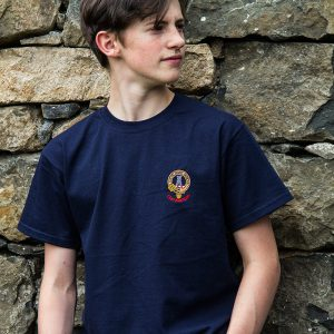 Duart Castle, Isle of Mull, Gift shop Maclean Clan Crest T-shirt 4