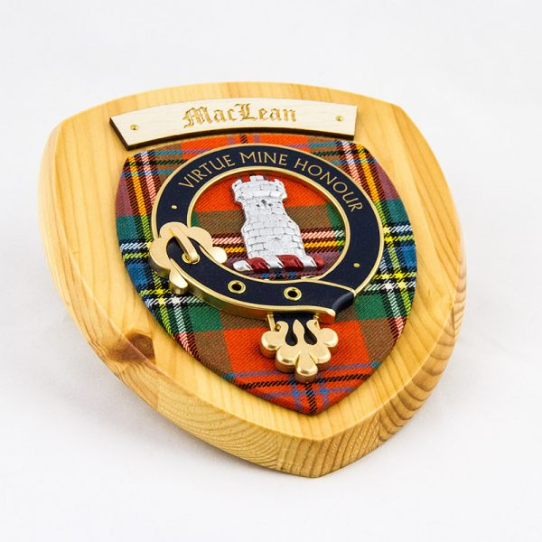 Maclean Crest, ancient tartan