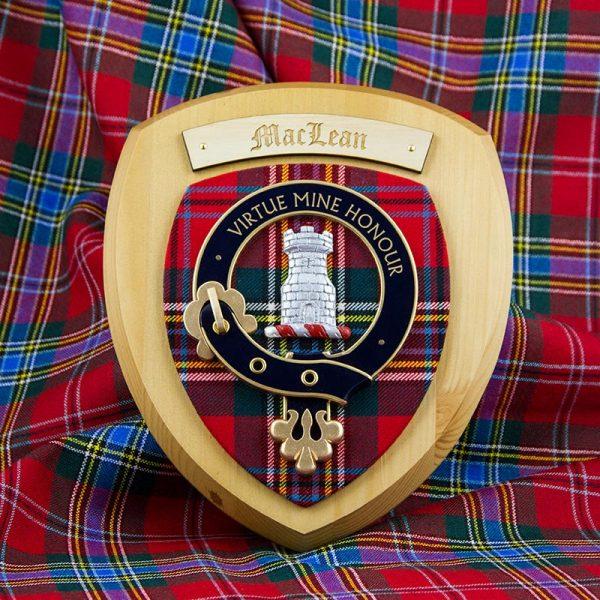 Maclean Crest, modern tartan