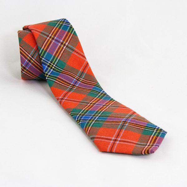 Maclean Clan ancient tartan tie