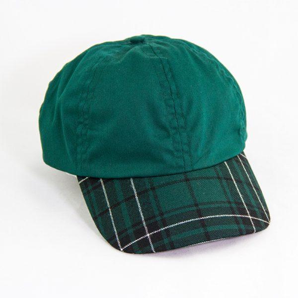 maclean tartan peak cap, modern hunting tartan