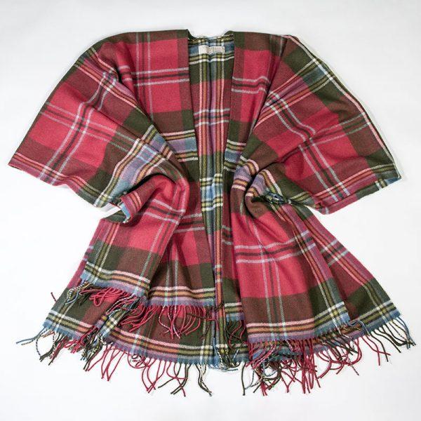 Maclean tartan serape-weathered