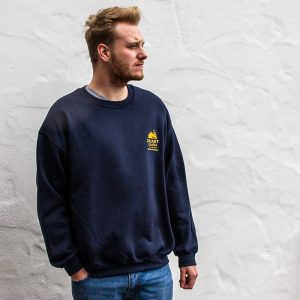 Duart Castle Sweatshirt, worn by model