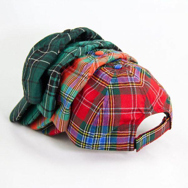 Maclean tartan caps