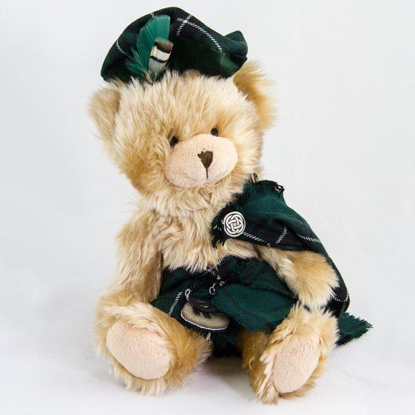 Maclean hunting tartan teddy bear