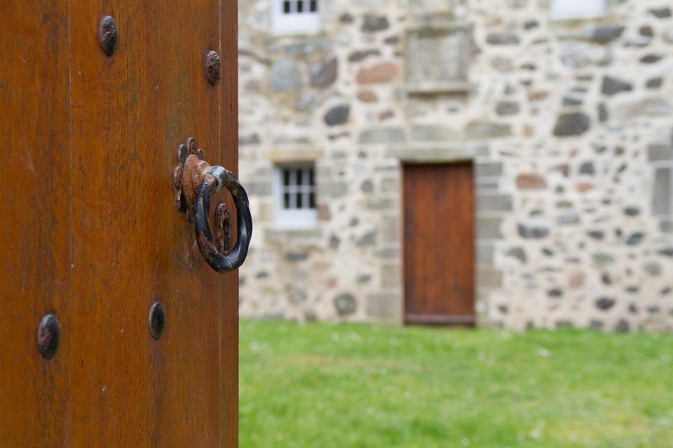 Duart Castle courtyard