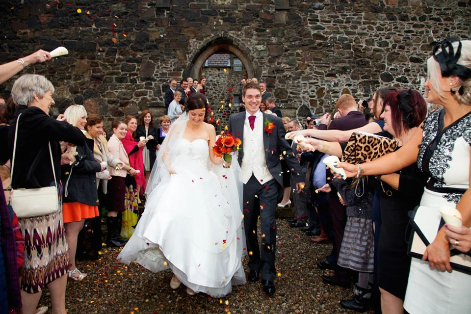 wedding at Duart Castle