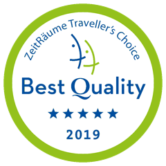 Zeitraume travelers choice best quality 2019 five stars